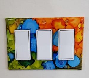 multi colored light switch