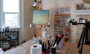 Spring Equinox – Abstract Painting Video