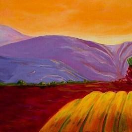 newest wine art painting