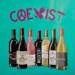COEXIST Wine Art Painting