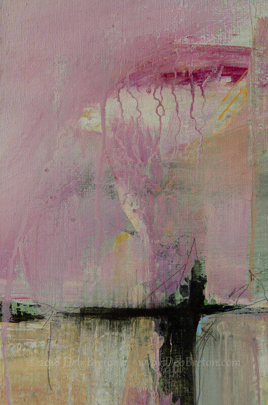mark making abstract