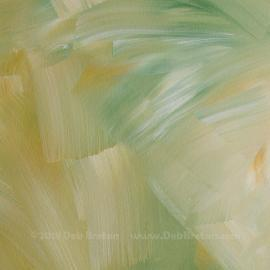 Soft Summer Days – Abstract Square Painting