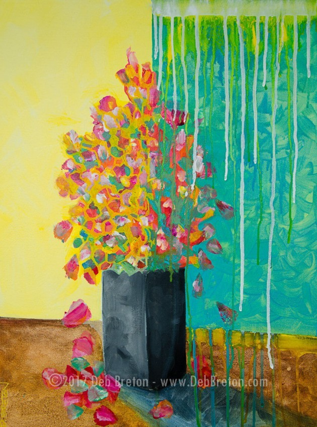 Nothing Lasts Forever still life abstract painting
