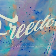FREEDOM – Custom Painting
