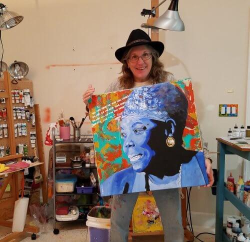 featured artist Deb Breton CV