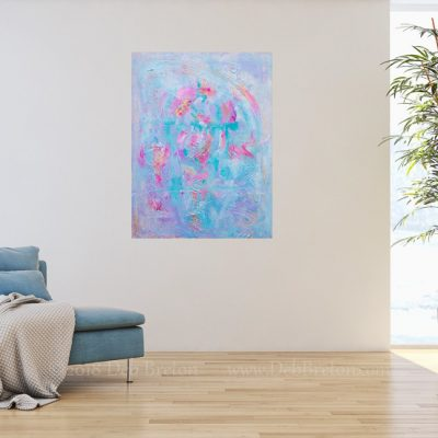 Angels Among Us Abstract Painting