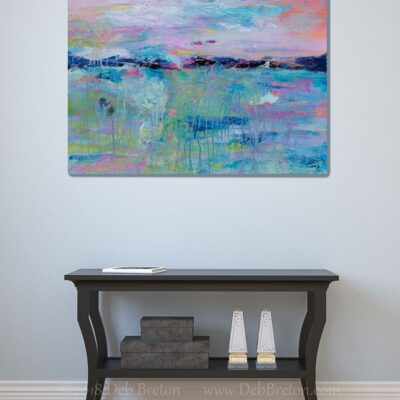 MORNING MEDITATION Abstract Painting