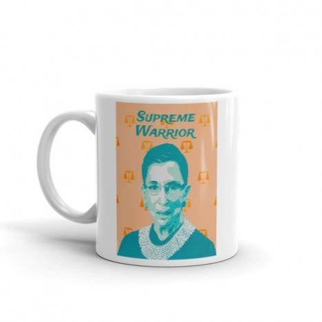 Ruth Bader Ginsburg – Supreme Court Justice – RBG Mug