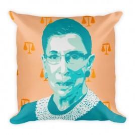 Ruth Bader Ginsburg RBG – Square Pillow