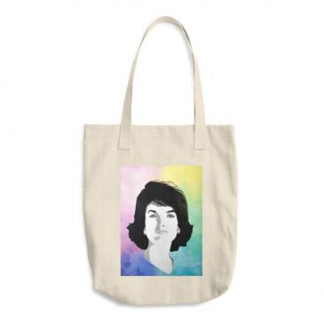 Jackie Kennedy Cotton Tote Bag
