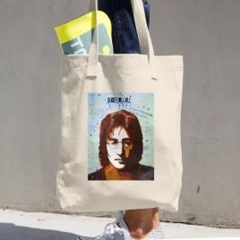 John Lennon Cotton Tote Bag