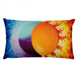 Balancing Sun and Moon – Stuffed Pillow