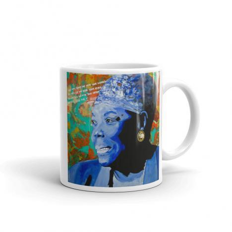 Maya Angelou – Still I Rise – Mug