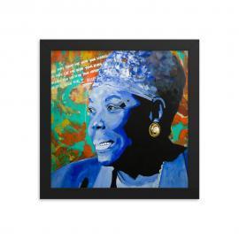 Maya Angelou – Still I Rise – Framed poster