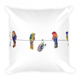 Show Off – Birds on a Wire Stuffed Pillow