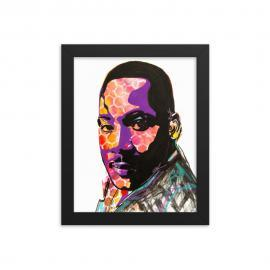 Remembering Martin Luther King Jr. – Framed poster