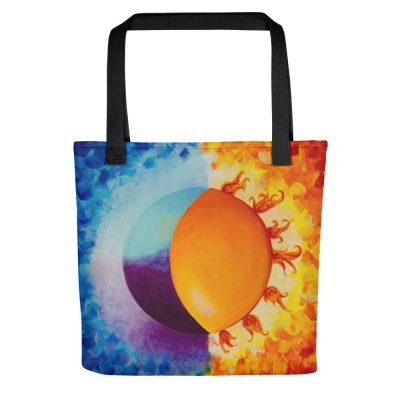 Balancing Sun and Moon – Tote bag