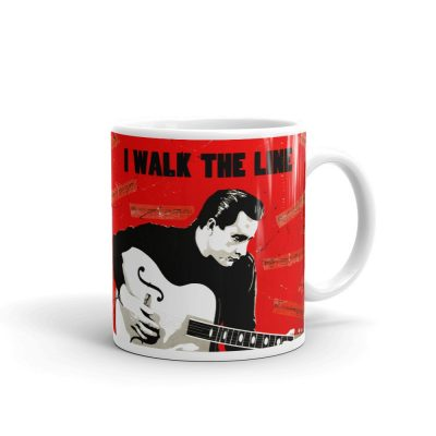 Johnny Cash I Walk The Line Mug