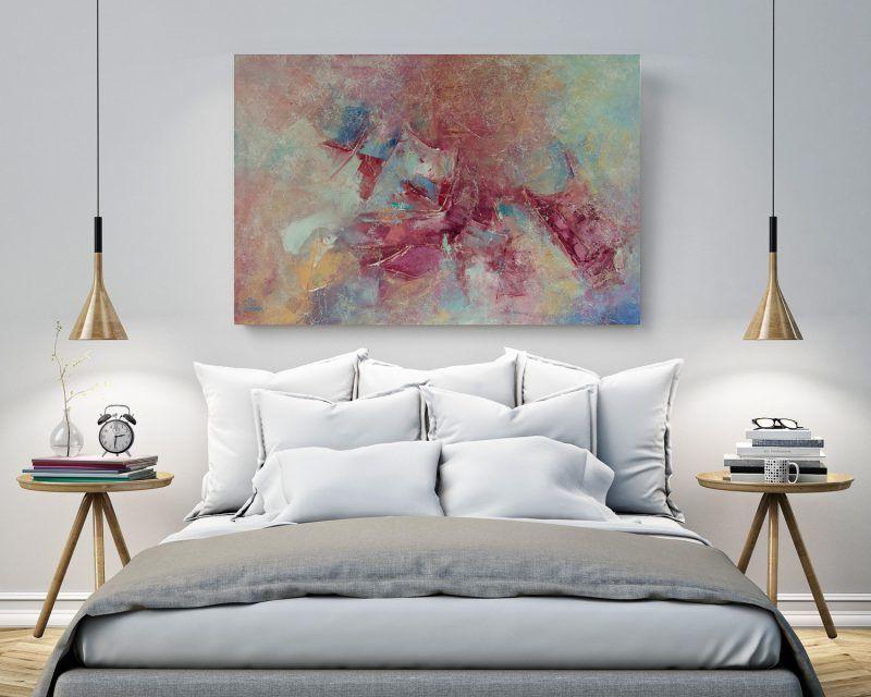 Deb Breton Large Abstract Paintings