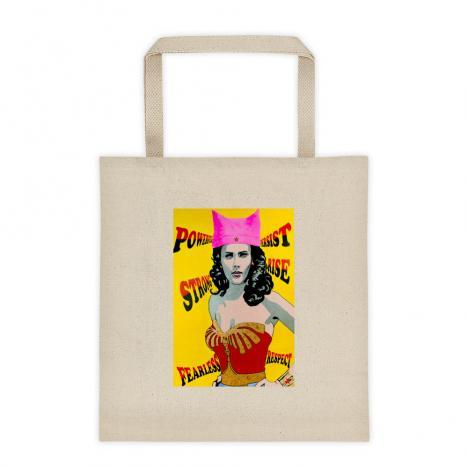 Persist! Wonder Woman Tote Bag