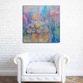 A Distant Memory – Abstract Painting