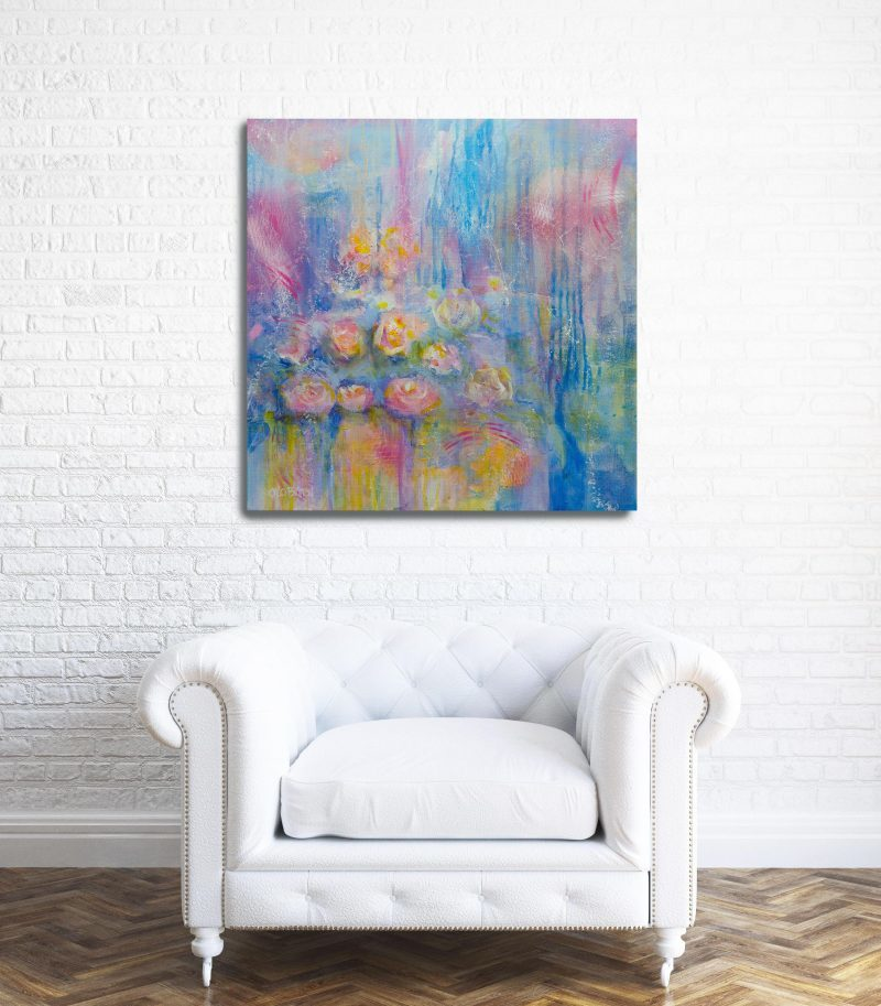 A Distant Memory Painting in living area