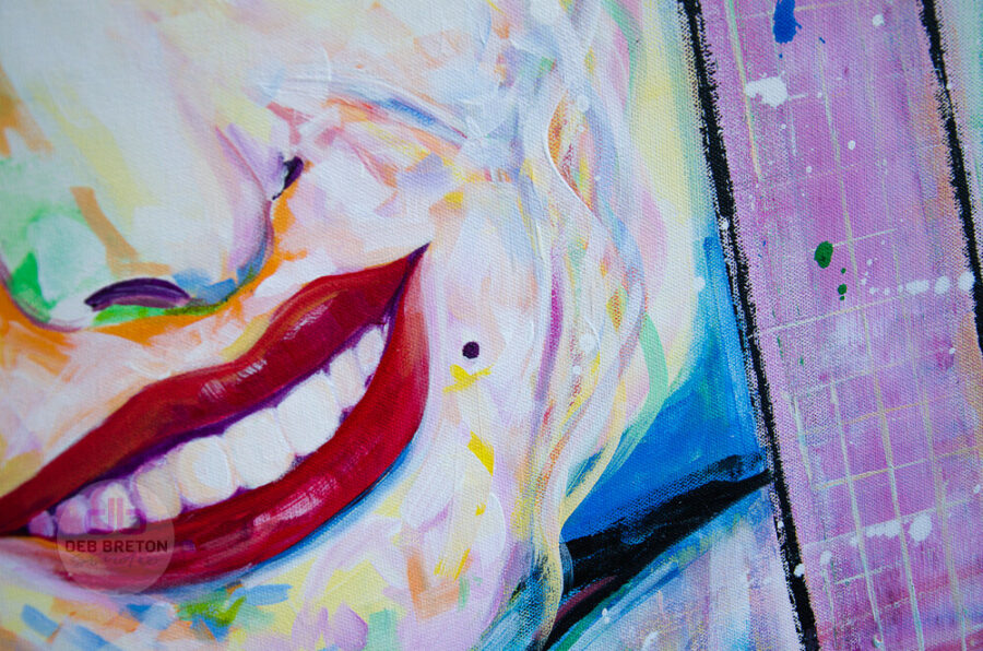 Dolly parton portrait painting