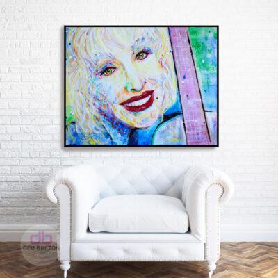 Dolly Parton Portrait