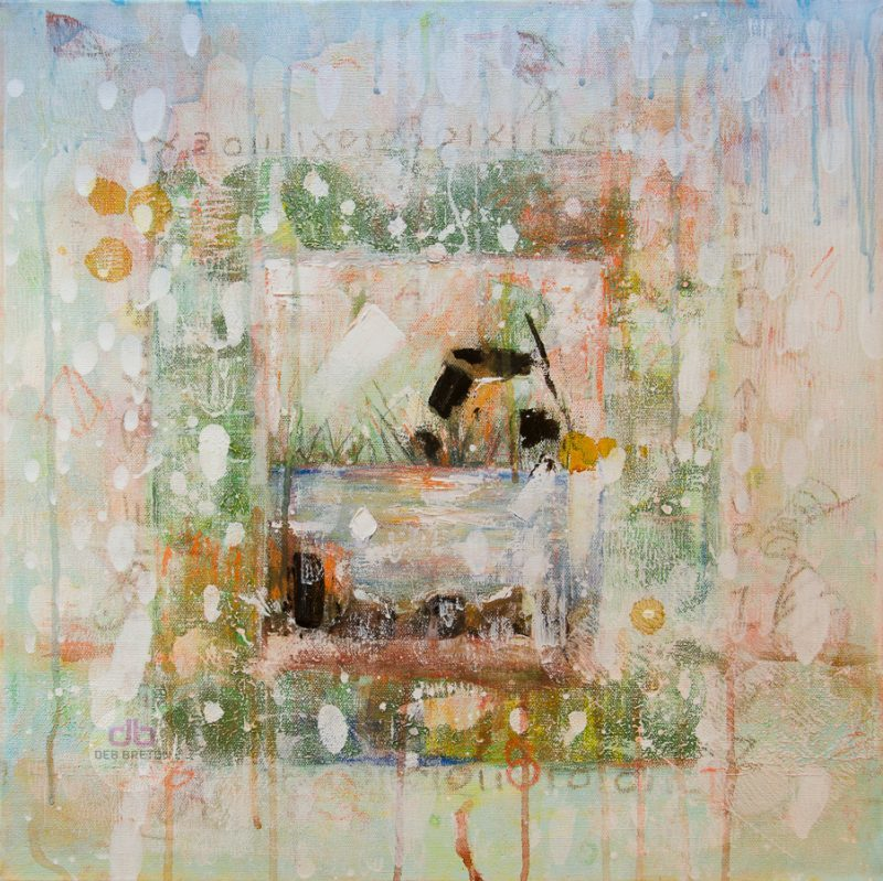 Effervescence - Piece of Peace painting on canvas
