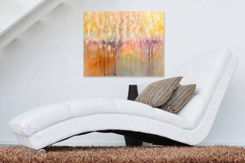 original painting in situ