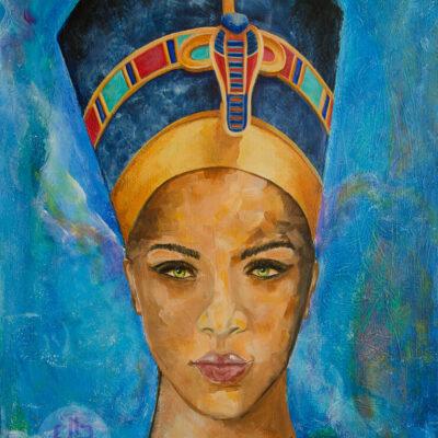 Egyptian Queen's Dream – Nefertiti Portrait