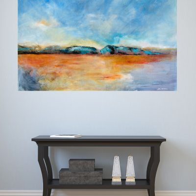 original isolation painting in situ
