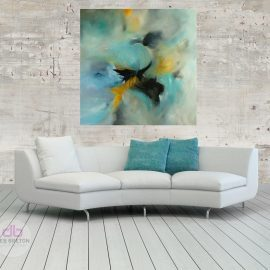 Isolation – Large abstract painting