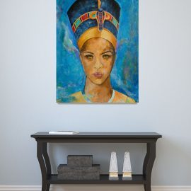 Egyptian Queen's Dream – Nefertiti Portrait