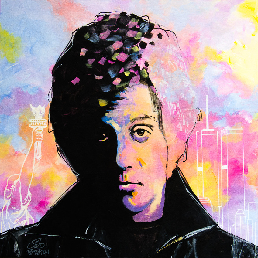New York State of Mind - Billy Joel Painting