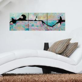 Relax Your Mind – Abstract Landscape Painting