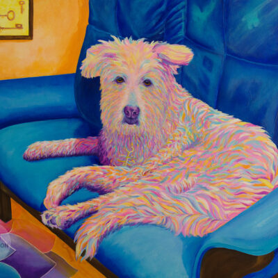 Stella – Colorful Dog Portrait