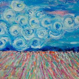 Van Gogh in Wine Country