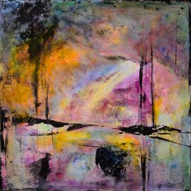 Climate Change abstract landscape