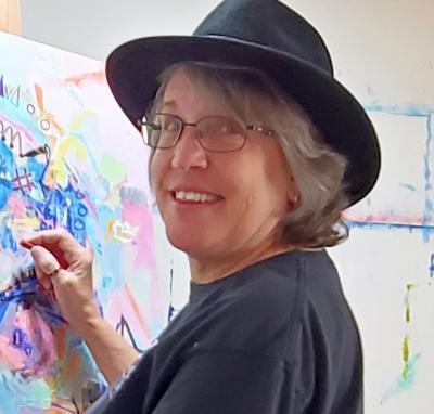 Deb Breton in Studio