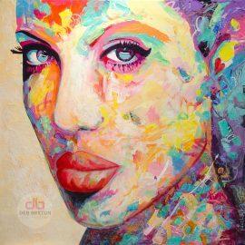 Femme Exotica – Portrait Painting