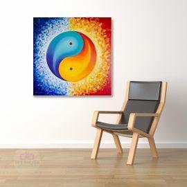 Yin Yang Painting – Finding Balance