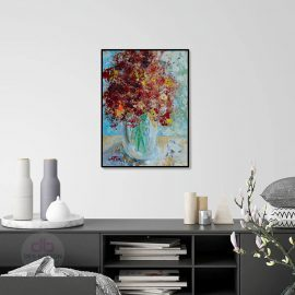 Flowers Painted with Flowers