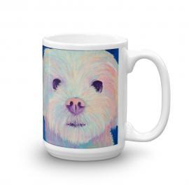 Sadie the Maltipom – Maltese Pomeranian Dog Mug