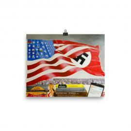 UNpresidentED Poster Art Print