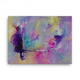 Affordable Abstract Canvas Print – Floating in the Vortex of Thought Canvas Print