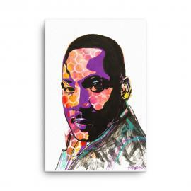 Remembering Martin Luther King Jr. – Canvas Print