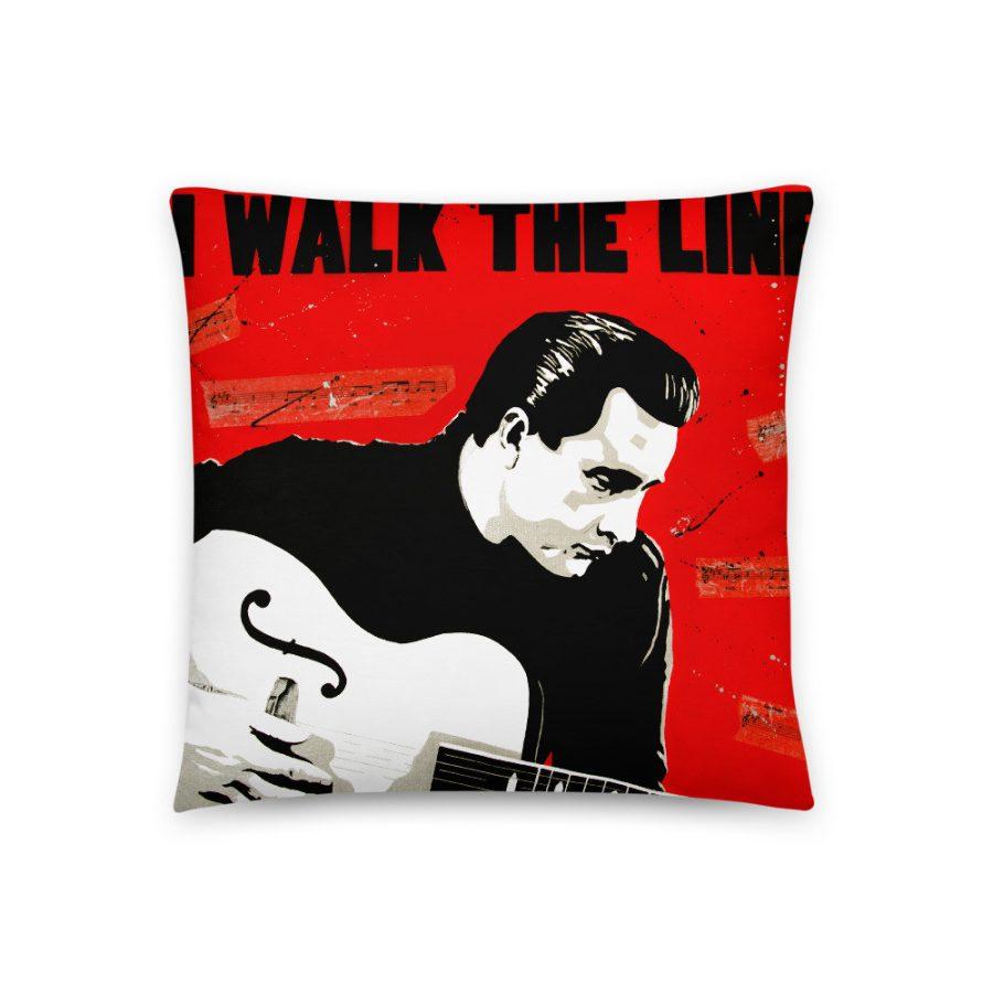 johnny Cash Pillow