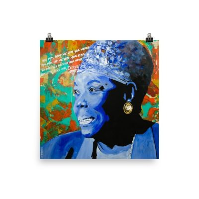 Maya Angelou Poster Still I Rise Poster Print