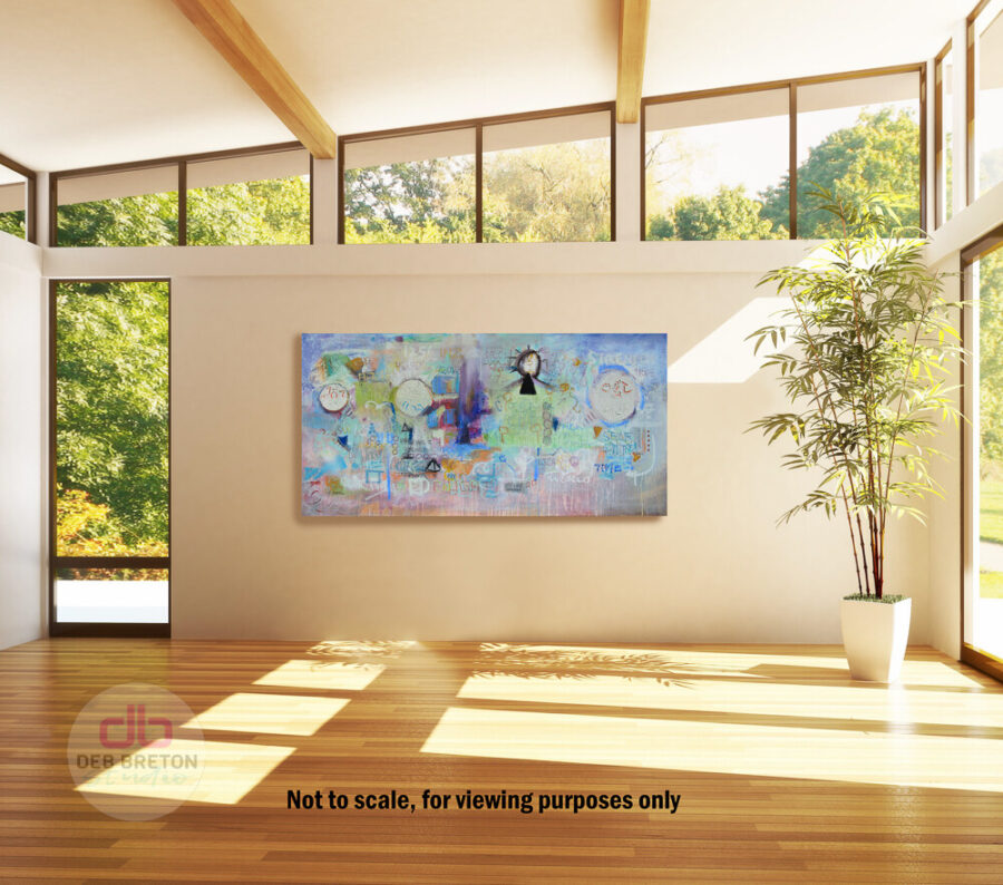 Painting in Sun Room